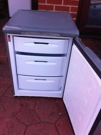 GREY/SILVER HOTPOINT 'FUTURE' UNDERCOUNTER FREEZER FOR SALE