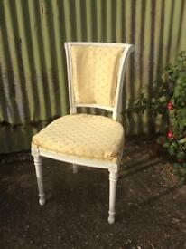 Vintage bedroom chair project