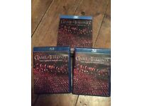 Game of thrones 1-4 Blu Ray