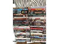 56 DVD Films all in Cases