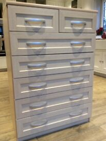 2 over 5 drawer bedroom chest