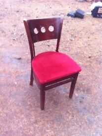 Unusual style occasional chair/bedroom chair