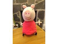 Pepper pig soft toy