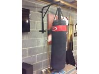 Punch bag with bracket