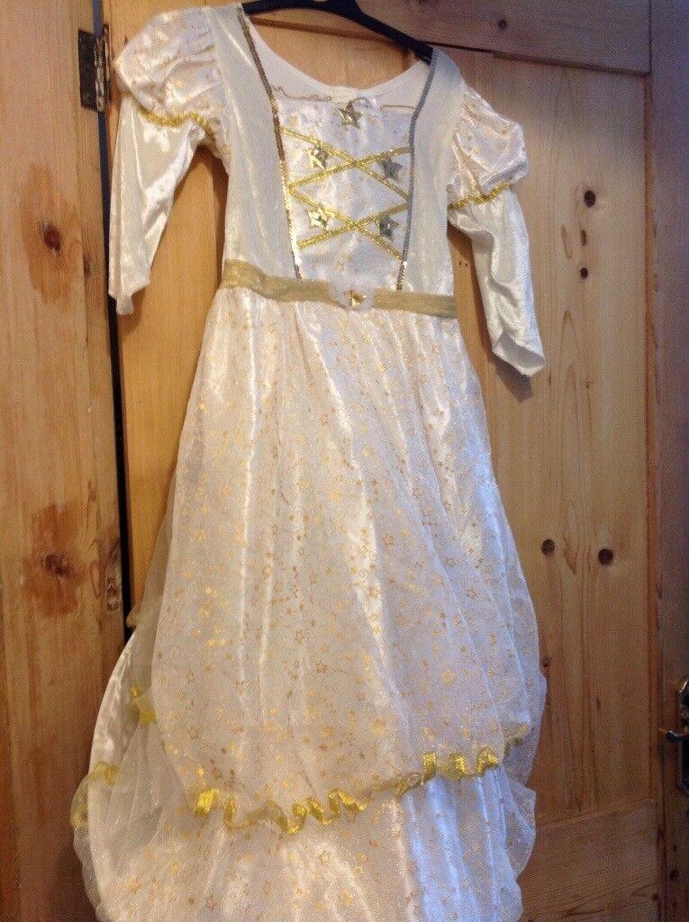 Angel Dress with light up stars 7-8 years