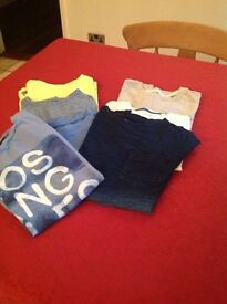 Boys next t shirts age 8 years v g c
