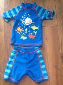 Boy swimming costume