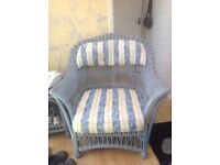 Wicker chairs ideal conservatory furniture