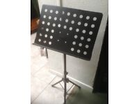 Music Conductor Stand,Sheet holder. Adjustable stand.