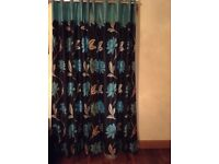 2 pairs of Romo made to measure curtains