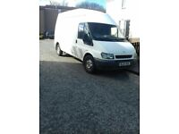 FORD TRANSIT LWB HIGH ROOF. QUICK SALE