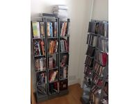 CD and DVD Display Racks, excellent condition