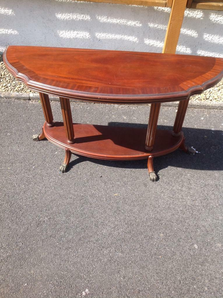 Occasional Half Round Table House Clearance