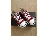 Infant size 10 Converse