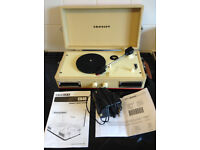 Crossley CR40 three speed compact record player