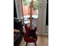 Fender Hard tail stratocaster