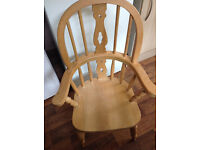 Solid Pine Children's Chair