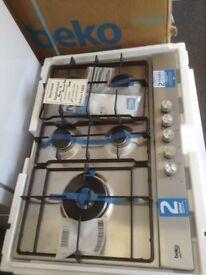 Beko 5 burner gas hob. Stainless steel. £150 new/graded 12 month Gtee