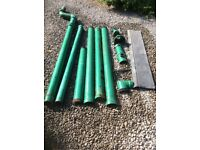 Cast iron guttering / down pipes
