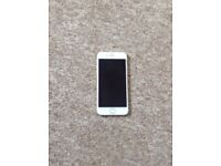 iPhone 6 gold crack on screen but otherwise in good condition