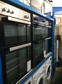 Double ovens new graded 12 mth gtee £230