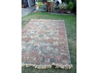 Large Rug - Dusty pink/pale colours