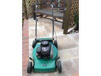 Qualcast self propelled rotary petrol lawn mower