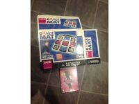 PlayStation 2 ps2 dance mat with game
