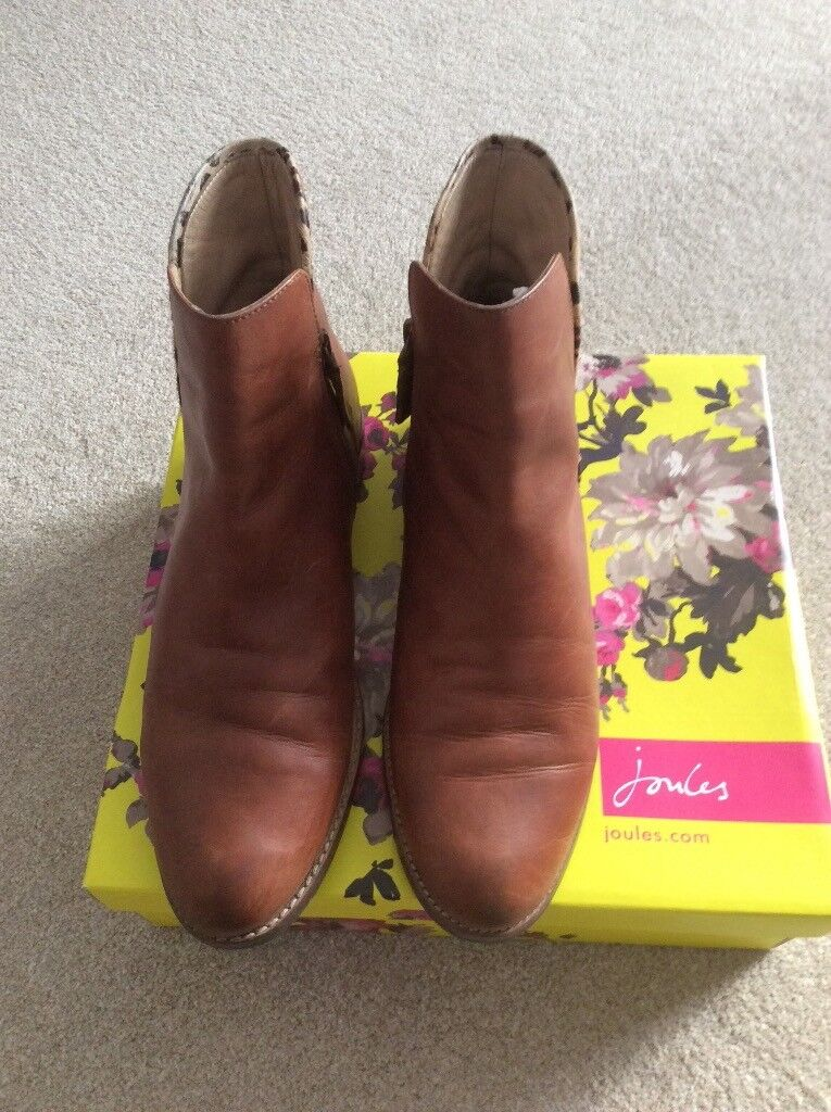 11660772d Joules tan Westbourne Chelsea ankle boots ladies size 7 £50 | in ...