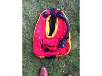 wet suit life jacket