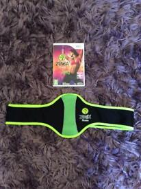 For sale wii fit Zumba game and belt