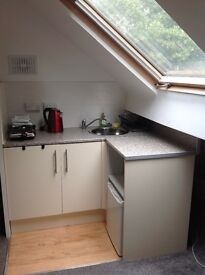 Studio flat very close to northern general hospital all bills included
