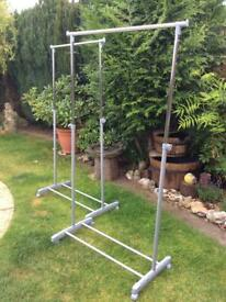 Two New Clothes Rails.
