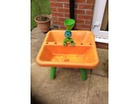 ELC sand/water table