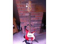 Peavey Milestone BXP Bass Guitar.