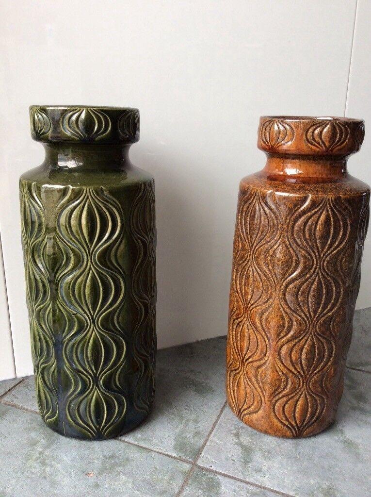 Pair Of West German Vases In Enfield London Gumtree