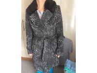Woman's coat, M&S size 10
