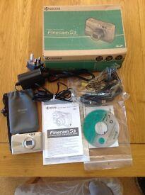 Kyocera Digital Camera Finecam S3