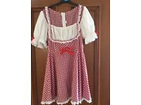 Little red riding hood costume size 10