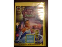 Disney the princess and the frog DVD