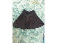 Black skirt size 6/8