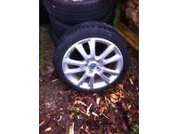 "17"" Skoda ovtavia vrs wheels and tyres for sale"