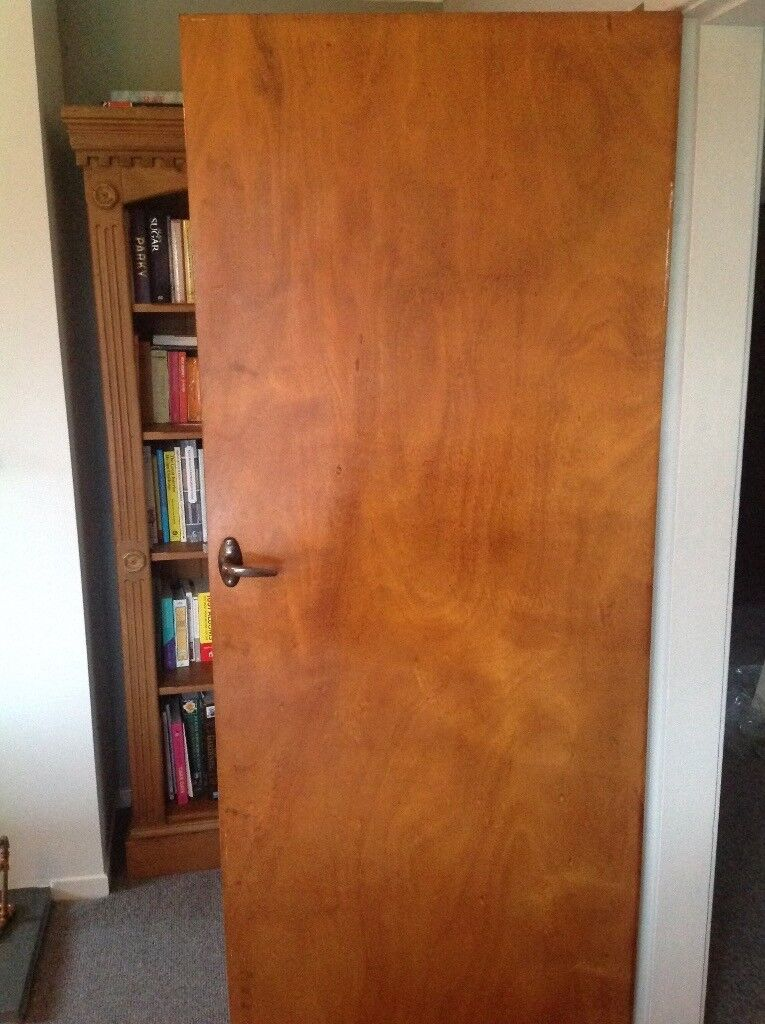 7 No 1950s Panel Interior Doors 197x76 Cms In Carnforth