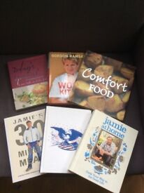 12 Cookery Books for £20 - including Jamie Oliver, Gordon Ramsay and more! Unused, as new