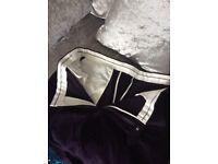 Worn once!! Men's purple cord trousers