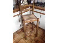Oak breakfast/bar stools