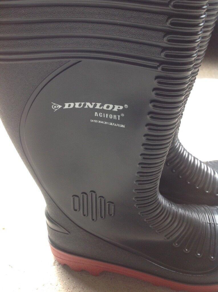 Dunlop wellys