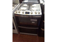AEG GAS COOKER (FULL GAS) 60CM WIDE **NEW DISPLAY ITEM** FREE DELIVERY