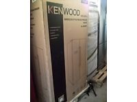 Kenwood Stainless steel American fridge freezer......Ex display free delivery