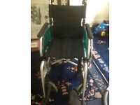 Immaculate wheelchair - Hardly used, top of the range, supplied from Kent mobility